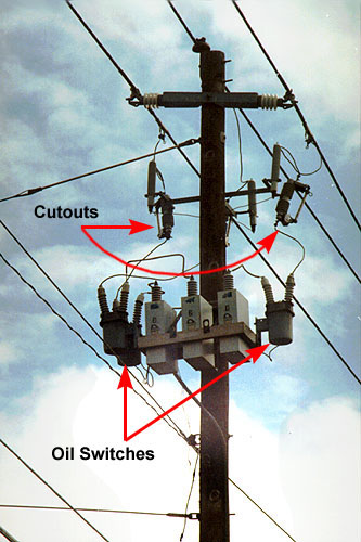 on electrical circuit switches