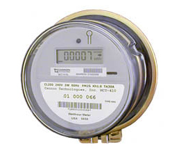 a residential electric meter measures how much energy you use energy use is calculated in kilowatt hours or the number of kilowatts of power used times the