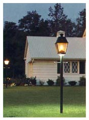 Home energy library gas lighting gas lights provide a soft warm nostalgic glow and are popular for lighting a homes front yard and outdoor living areas illumination from a gas light adds mozeypictures Gallery
